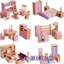 Elegant Dollhouse Furnitures And Accessories