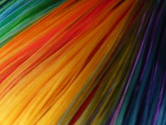 Rainbow Hair by luvsarah @Flickr