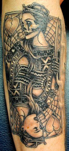 queen of hearts tattoo | atomik: Queen of Hearts Tattoo...
