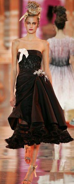 Christian Lacroix Haute Couture Spring-Summer ✿⊱╮