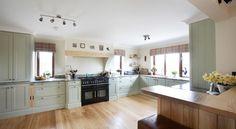 installing range cooker chimney breast - Google Search House, Home, Corbels, Oven Range, Kitchen, Range Cooker, Kitchen Gallery, Kitchen Diner, Home Kitchens