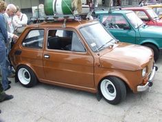 Fiat 126, Fiat Cars, Jdm Cars, Automobile, Old Hot Rods, Steyr, Small Cars, Retro Cars, Motor Car
