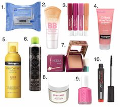 TOP TEN: Summer Beauty Products - Dwelling & Telling
