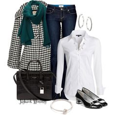 A fashion look from January 2015 featuring cuff shirts, oversized coat and boot cut jeans. Browse and shop related looks.
