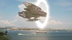 UFO mothership arrives in Turkey through Interdimensional Portal ! Nov 2016 ??.....fake???