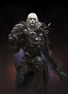 ArtStation - The son of dark dark, HE XIAOSONG