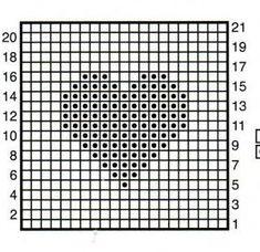 Crochet Heart Squares Free Crochet Patterns By Cats-Rockin-Crochet Crochet Diagram, Crochet Chart, Crochet Blanket Patterns, Crochet Motif, Knit Patterns, Afghan Patterns, Crochet Stitch, Canvas Patterns, Crochet Gratis
