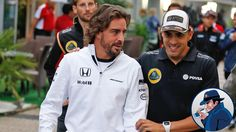 "Maldonado:""Yes Fernando, only the best are in Formula One!"" Alonso:""Yes, but why are you here?"""