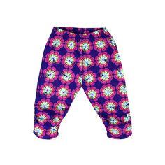 Pants FLOWERS PINK – Pan Pantaloni Summer Tribes 2015 collection for kids, light cotton pants. #fashion #kids #natural #summer #grandbazaar