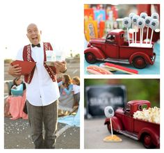 This Vintage Drive In Movie Party is the perfect theme for your tween!
