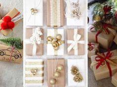 15+ kouzelných nápadů na balení vánočních dárků, kterými překvapíte každého!