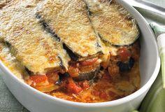 Casserole Dishes, Casserole Recipes, Greek Recipes, Vegan Recipes, Moussaka Recipe, South Beach Diet, Eggplant Recipes, Pasta, I Love Food