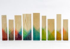 Raw Edges présente sa collection de meubles en bois teint | Artibazar- blog mobilier design.