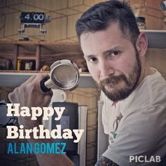 Happy Birthday Barista: Alan Gomez - come by @cogcoffee and celebrate over an #espresso - hit the blog for more photos: LACoffeeClub.com