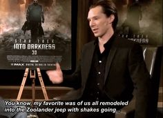 That time he attempted to explain what a GIF was through interpretive dance. | 37 Times In 2013 Benedict Cumberbatch Proved He Was King Of The Internet