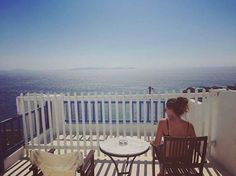 Greece Travel, Greek Islands, Outdoor Furniture, Outdoor Decor, Deck, Mykonos, Travelling, Vacation, Home Decor