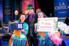 """Grupo Mascarada Carnaval: """"Las Sargoriás"""" se Alzan con el Primer Premio de I..."""