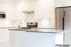 Quality Built www.ridgewater.ca New Kitchen, Kitchen Island, Kitchen Cabinets, Townhouse, Building, Home Decor, Island Kitchen, Kitchen Cupboards, Homemade Home Decor