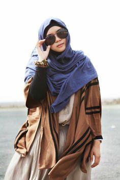 Best shots Of Hijab / New Styles Islamic Fashion, Muslim Fashion, Modest Fashion, Beautiful Muslim Women, Beautiful Hijab, Modest Wear, Modest Outfits, Turban, Hijab Hipster