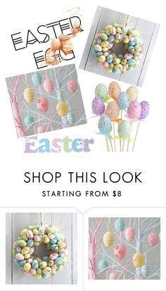 """Easter Egg"" by fashionvivy on Polyvore featuring interior, interiors, interior design, Casa, home decor e interior decorating"