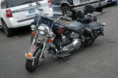 eBay: 2001 Harley-Davidson Softail 2001 Harley-Davidson Heritage Softail FLSTCI Black/Orange Saddlebags… #harleydavidson usdeals.rssdata.net