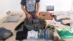 Il existe une méthode incroyable pour ranger toutes ses affaires dans 1 seul bagage à main ! Voici la vidéo qui vous montre comment faire pour mettre 1 mois d'affaires dans un seul sac à dos :-)  Découvrez l'astuce ici : http://www.comment-economiser.fr/ranger-ses-affaires-dans-une-valise-.html?utm_content=buffer4f613&utm_medium=social&utm_source=pinterest.com&utm_campaign=buffer