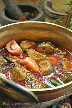 Spices Journey: PETUA TURUN TEMURUN UNTUK MEMASAK KARI IKAN YANG SEDAP #fish