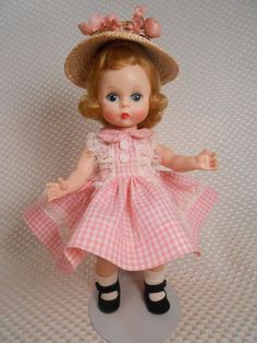 """Vintage Madame Alexander Kins """"Wendy Dressed for Tea Party"""" #358"""