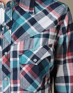 True Religion Brand Jeans, TRUE-9230 WOMENS PLAID GEORGIA SHIRT, truereligionbrandjeans.com