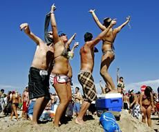 Ten trashiest spring break spots ... YES! We're headed to #4 :) too bad not more south no clothes needed = no laundry!