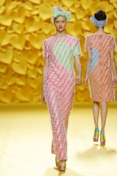 Agatha Ruiz de la Prada Spring/Summer 2016 collection during Mercedes-Benz Fashion Week Madrid