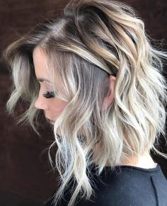 45 Beautiful Rooted Baby Blonde Hair Color Ideas in 2018 - Frisuren - Baby Hair Baby Blonde Hair, Blonde Hair With Roots, Balayage Hair Blonde, Blonde Ombre Short Hair, Gray Hair, Medium Length Hair Blonde, Blonde Hair Ideas For Short Hair, Blonde Hair With Dark Eyebrows, Blonde Highlights On Dark Hair Short