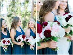 Bride and Bridesmaids portraits for a beautiful fall wedding at the Steele Canyon Golf Club