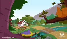 A typical Italian home set in the beautiful Italian countryside. If you and your kids love Italian culture as much as we do, why don't you learn more in our beautiful Italian storybook app for kids? Take a look here: https://www.apple.com/itunes/