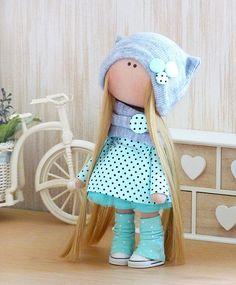 Decoration doll Handmade doll-Unique doll-cloth doll