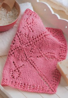 Ravelry: Knitting For A Cure Face Cloth pattern by Kay Meadors