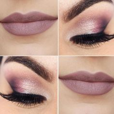 Pink make up Pretty Makeup, Love Makeup, Simple Makeup, Makeup Inspo, Makeup Trends, Makeup Art, Hair Makeup, Wedding Hair And Makeup, Bridal Makeup