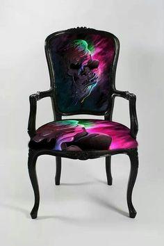 Artfully fantacy themed chair