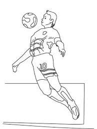 Sport Collectif Printable Coloring Pages Wk Iris Folding Outlines