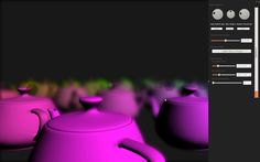 """This is """"Realtime DoF + Bokeh in OpenGL by Michal Rutkowski on Vimeo, the home for high quality videos and the people who love them. Bokeh, Programming, Graphics, Graphic Design, Printmaking, Computer Programming, Coding, Boquet"""