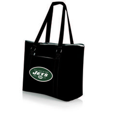 NFL Collectibles - Tahoe Cooler Tote (New York Jets) Digital Print - Black
