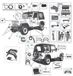 suspension diagram … | Jeep | Pinte…