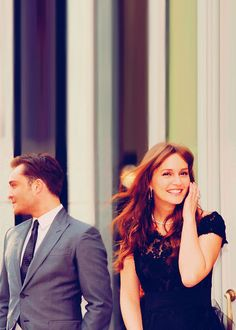 never been two people, real or fake, more meant for each other than these two. Chuck and Blair.