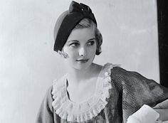A very young and beautiful Lucille Ball.