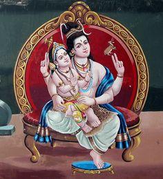 Lord Shiva & His Son Skanda by Yoga XTC, via Flickr