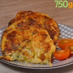 Rösti pommes de terre et poireaux Vegetable Recipes, Vegetarian Recipes, Healthy Recipes, Batch Cooking, Cooking Recipes, Cooking Ham, Pizza Recipes, Tortas Low Carb, Finger Foods