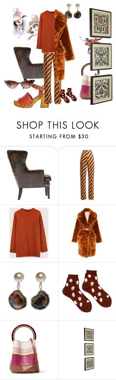 """Summer into Winter"" by peeweevaaz ❤ liked on Polyvore featuring Etro, Oak + Fort, Kimberly McDonald, Hansel from Basel, Marni, WALL, outfit, officewear, polyvoreeditorial and polyvorefashion"