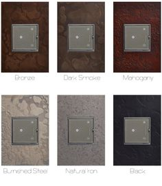 Adorne by Legrand and Hubbardton Forge collaboration - 6 available finishes