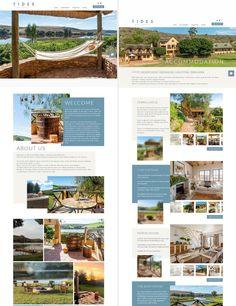 Website designed rfor TIDES LODGE in Malgas. Web Design, Website, Design Web, Website Designs, Site Design