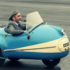 The Brütsch Mopetta is an interesting historical curiosity, only 14 of the microcars were ever made.